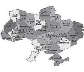 Epidemiological features of diarrheal infections in Ukraine