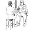 Methods for the measurement of blood pressure by doctors and patients