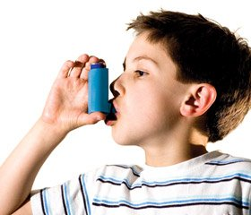 Side effects of basic therapy in children with allergic asthma