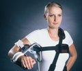 Лечение чрезмыщелковых переломов плечевой кости аппаратом внешней фиксации спицевого типа