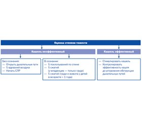 Неотложная помощь при обтурационной асфиксии (клиническая лекция)