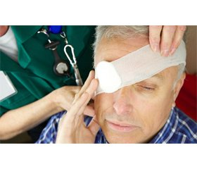 Main aspects of traumatic eye injures during wars and military conflicts