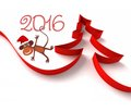 2016 год — год Обезьяны
