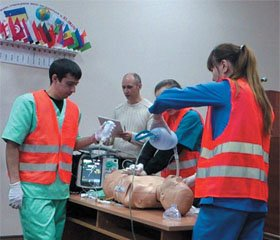 Forms of Simulation Training of Physicians — Participants in a Course, Residents, Nursing Staff and Paramedics