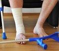 Лікування постраждалих ізвисокоенергетичними переломами кісток нижніх кінцівок у гострому періоді травматичної хвороби