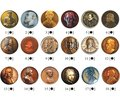 History of arthrology in the mirror of numismatics