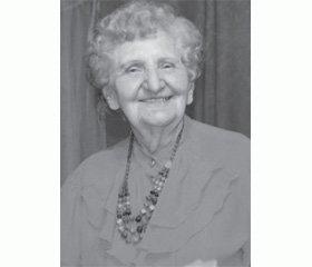Оксана Михайловна Матяшина (5.09.1923 — 11.11.2013)
