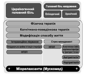 Головний біль напруження й цервікогенний головний біль: особливості клінічної картини, діагностики й лікувальної тактики