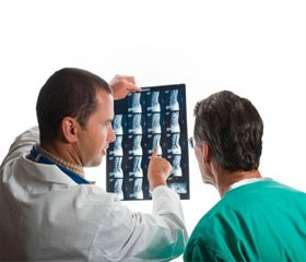 Radiological diagnostics consequences of injuries of the thoracic spinal cord in the practice of medical and social expertise