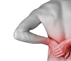 Біль нижнього відділу спини ухворих різного віку ізсупутнім ожирінням