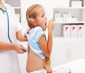 Эффективная антибиотикотерапия  рекуррентных бактериальных бронхитов у детей с гипертрофией лимфоглоточного кольца
