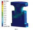 Mathematical and computer modeling of carbon endoprosthesis for thoracic interbody fusion