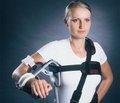 Лечение больных с многофрагментарными внутрисуставными переломами дистального метаэпифиза плечевой кости