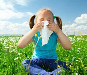 Ефективність левоцетиризину при алергічному риніті в дітей