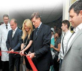 В Киевской городской клинической больнице №5 открыто отделение гемодиализа самого современного образца