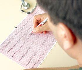 Электрокардиографические нарушения при инфекционных заболеваниях